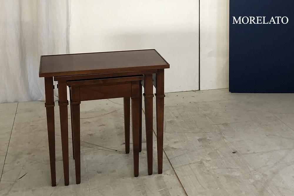 best value c1466 47673 Morelato - High-Class Outlet - Tavolino Tris Biedermeier