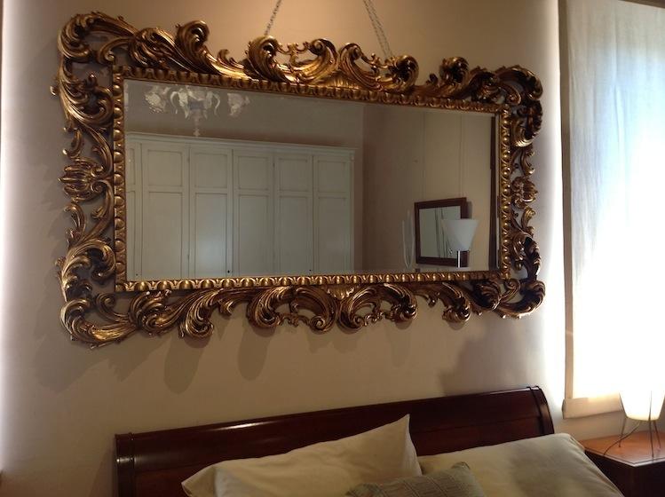 Morelato high class outlet specchio dorato 800 - Specchio dorato antico ...