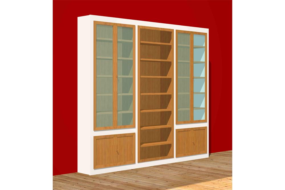 Morelato high class outlet libreria maschera for Morelato librerie