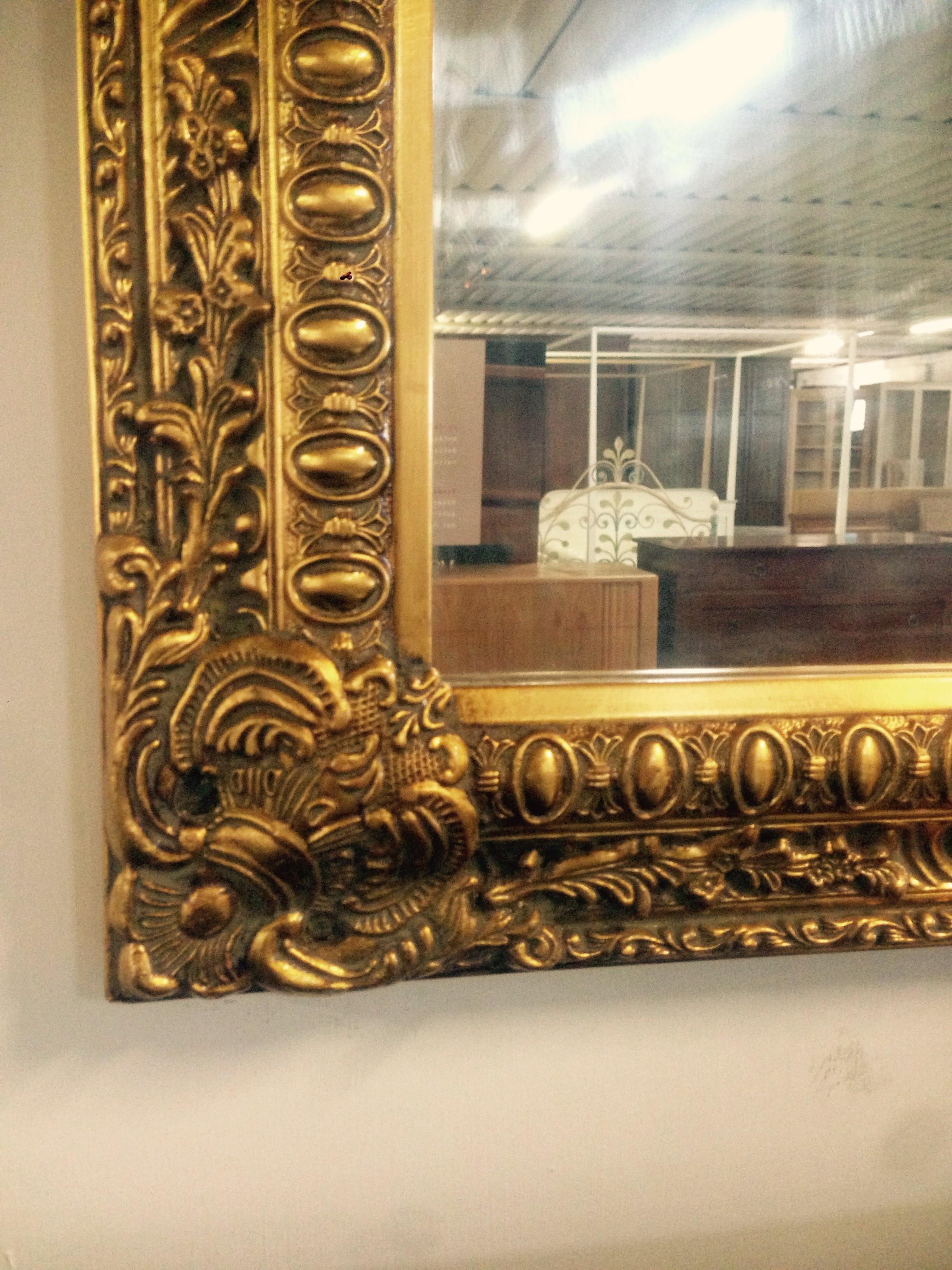 Morelato high class outlet specchio dorato - Specchio dorato antico ...