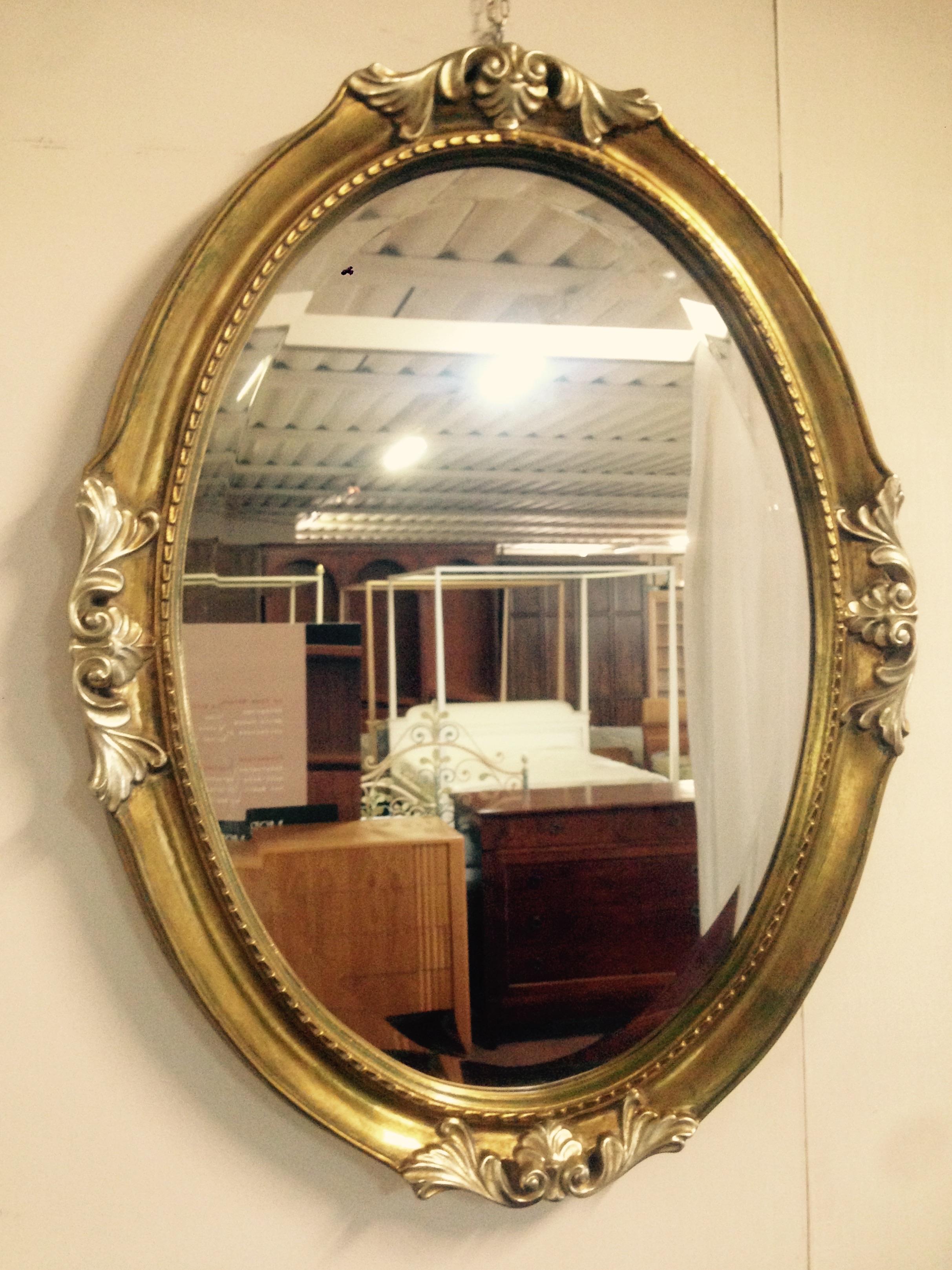 Morelato high class outlet specchio ovale - Specchio antico ovale ...